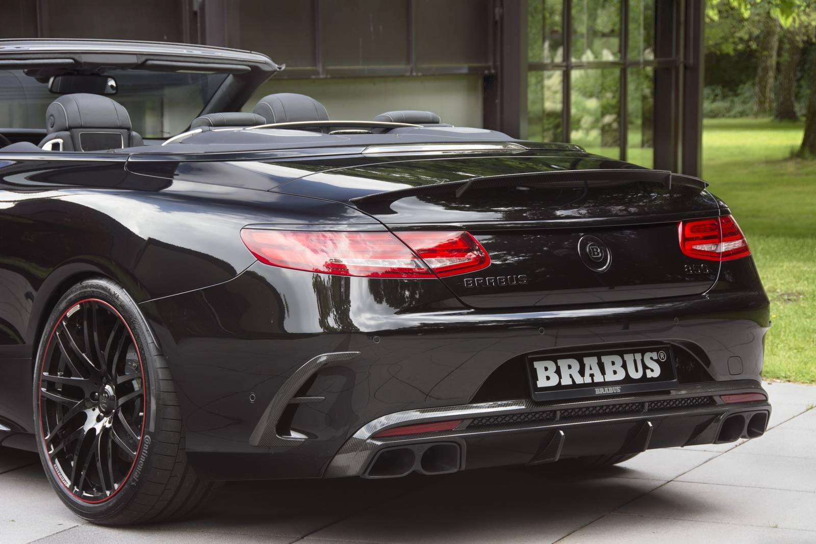 Official 850hp Brabus Mercedes Amg S63 Cabriolet Gtspirit