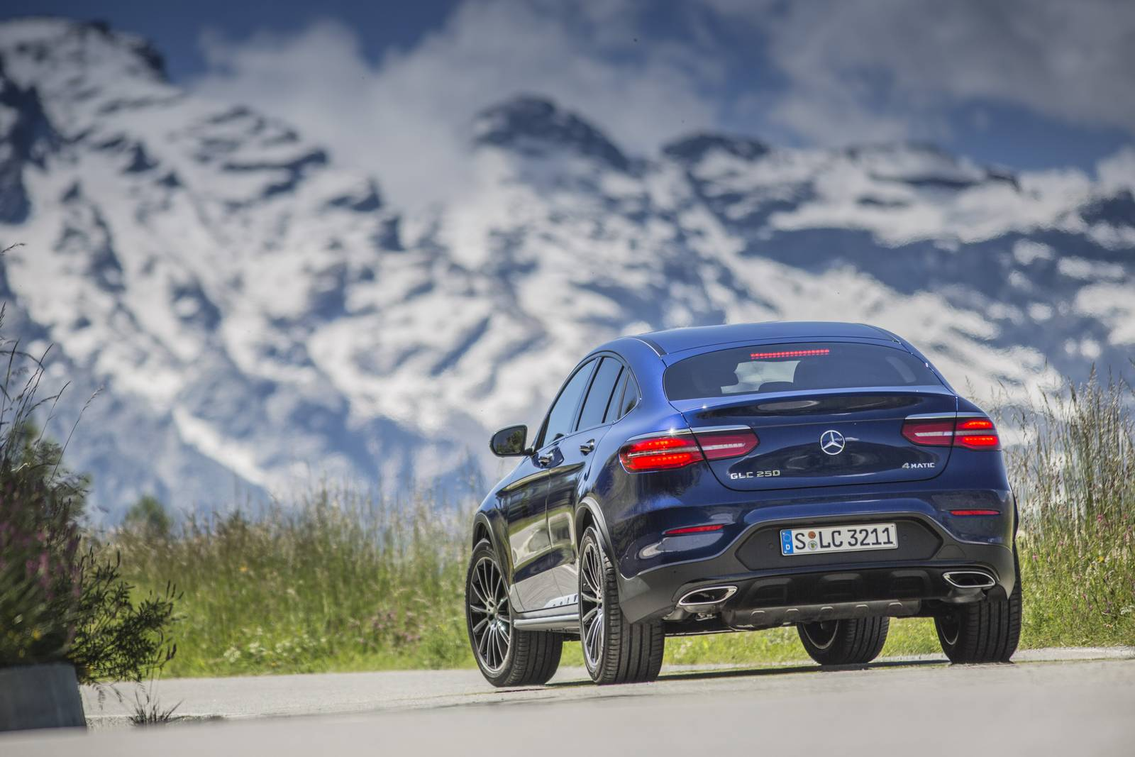 2017 mercedes benz glc coupe review gtspirit for Mercedes benz glc for sale