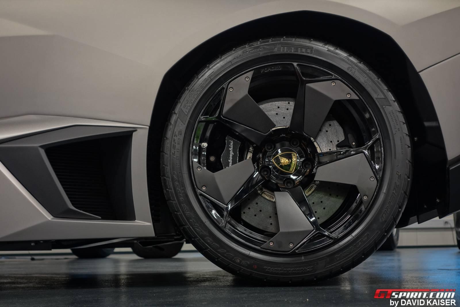 the - Lamborghini Reventon