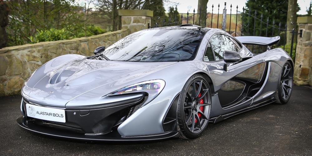 titanium silver mclaren p1 for sale in the uk at million gtspirit. Black Bedroom Furniture Sets. Home Design Ideas