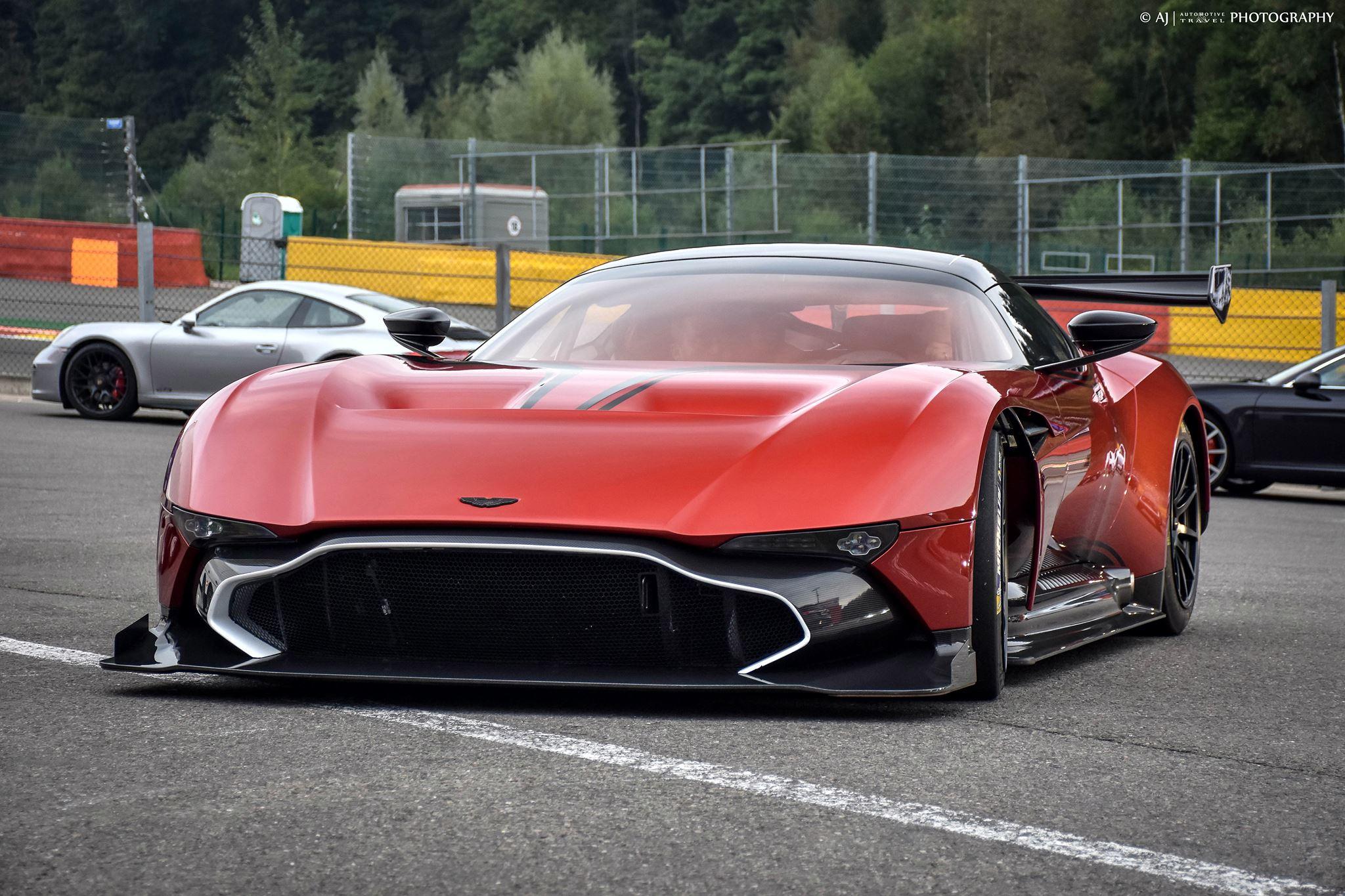 Gallery: Aston Martin Vulcan Attack at Spa-Francorchamps - GTspirit