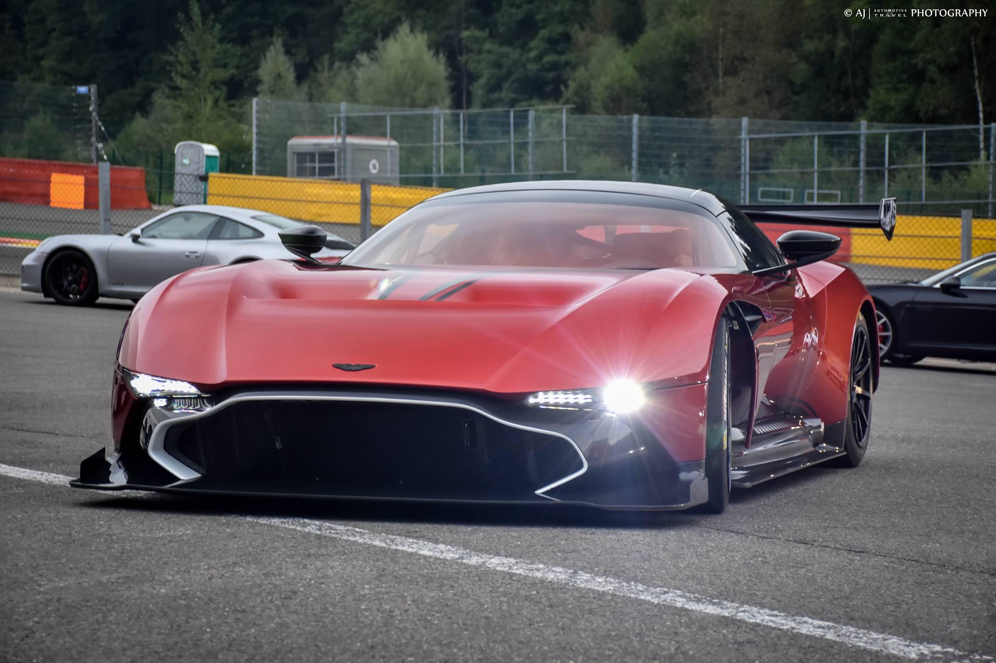 Aston Martin Vulcan Price >> Gallery: Aston Martin Vulcan Attack at Spa-Francorchamps - GTspirit
