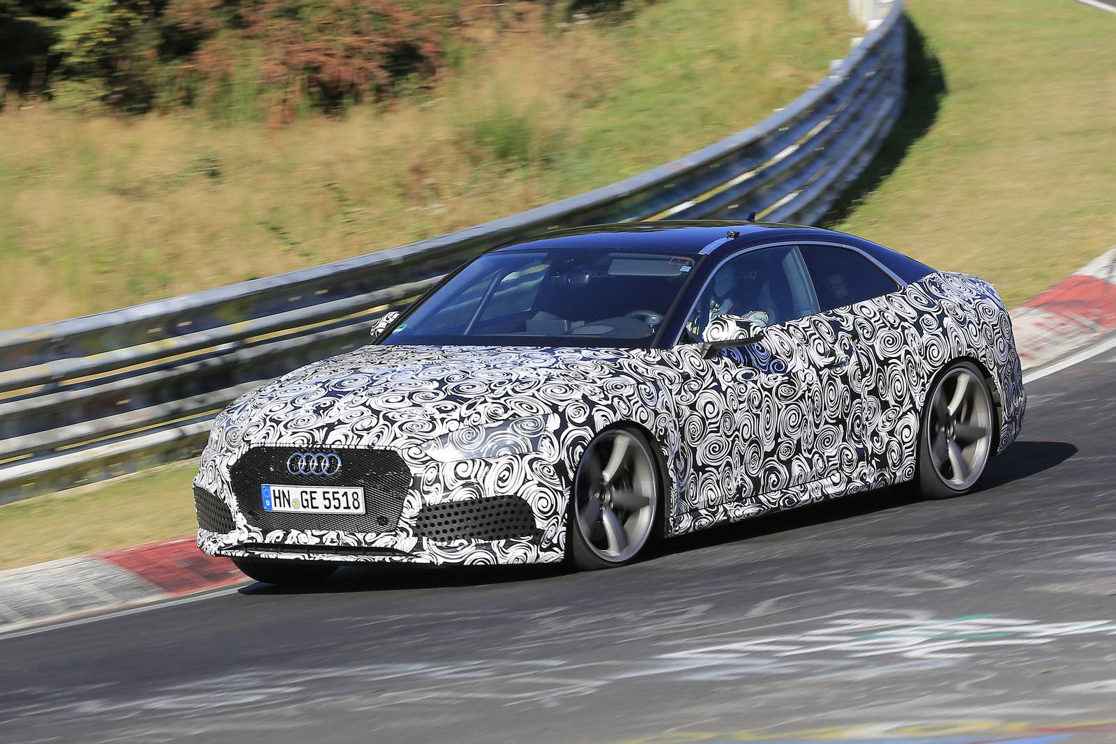 2018 audi rs5. wonderful rs5 2018 audi rs5 latest spy shots supercar with audi rs5