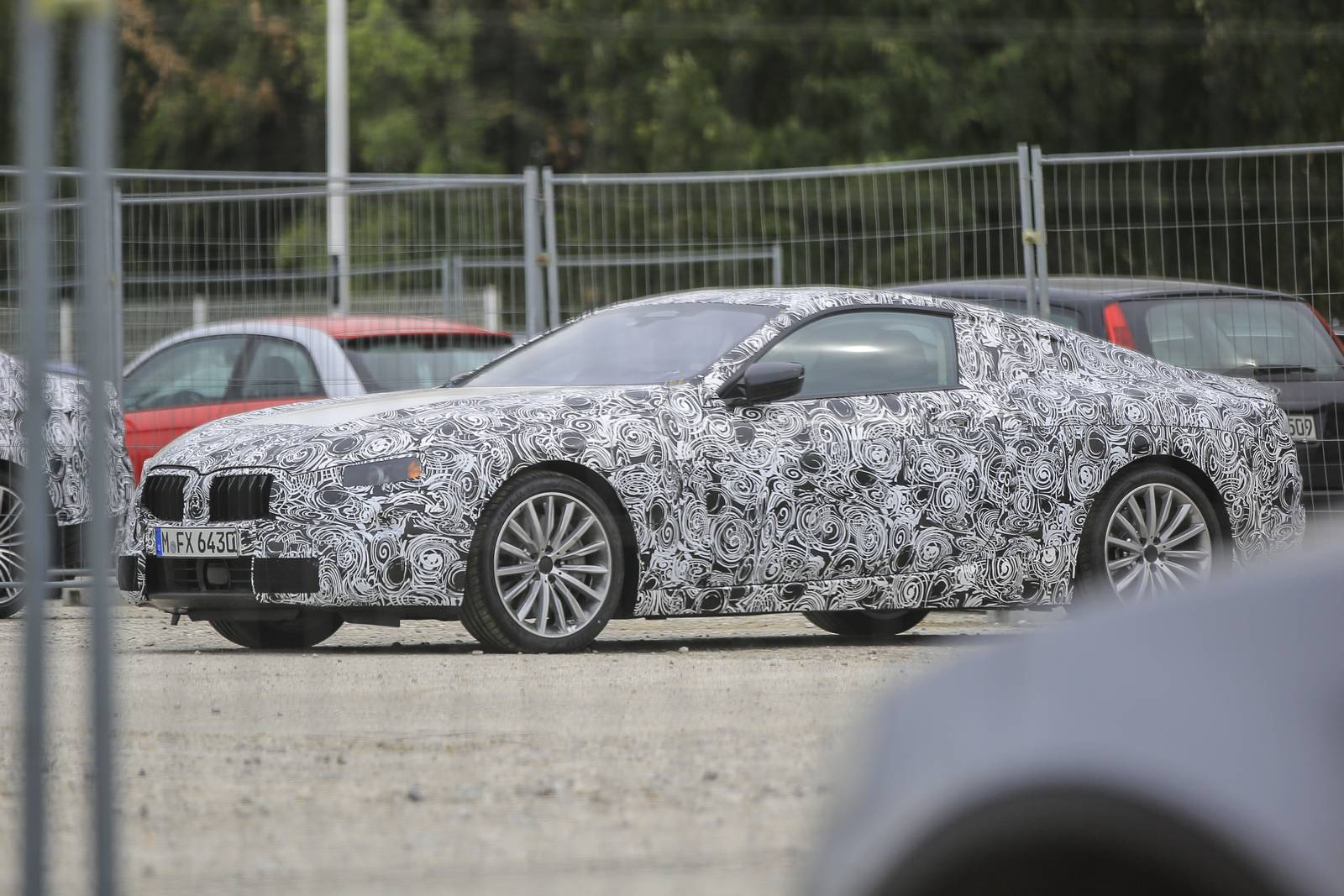 2018 bmw 8 series coupe. plain 2018 2018 bmw 8 series coupe first spy shots supercar intended bmw series coupe