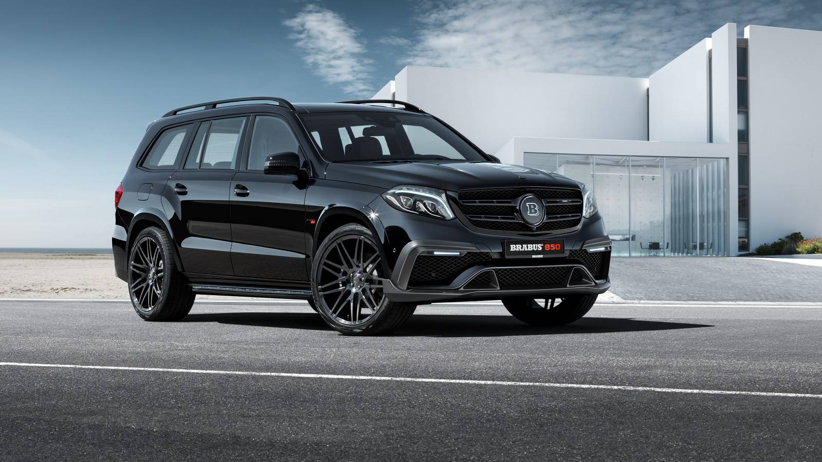 Official Brabus 850 Xl For Mercedes Amg Gls 63 With 850hp Gtspirit