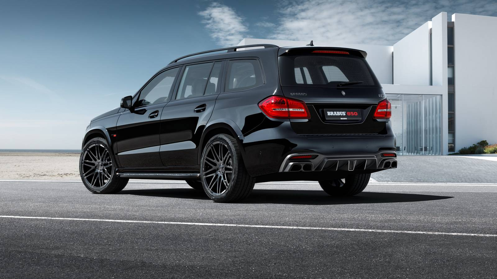 official brabus 850 xl for mercedes amg gls 63 with 850hp gtspirit. Black Bedroom Furniture Sets. Home Design Ideas