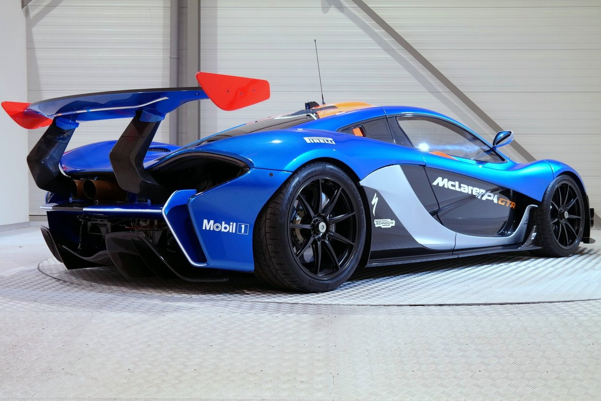 Road Legal McLaren P1 GTR For Sale in Holland at $3.5 Million ...