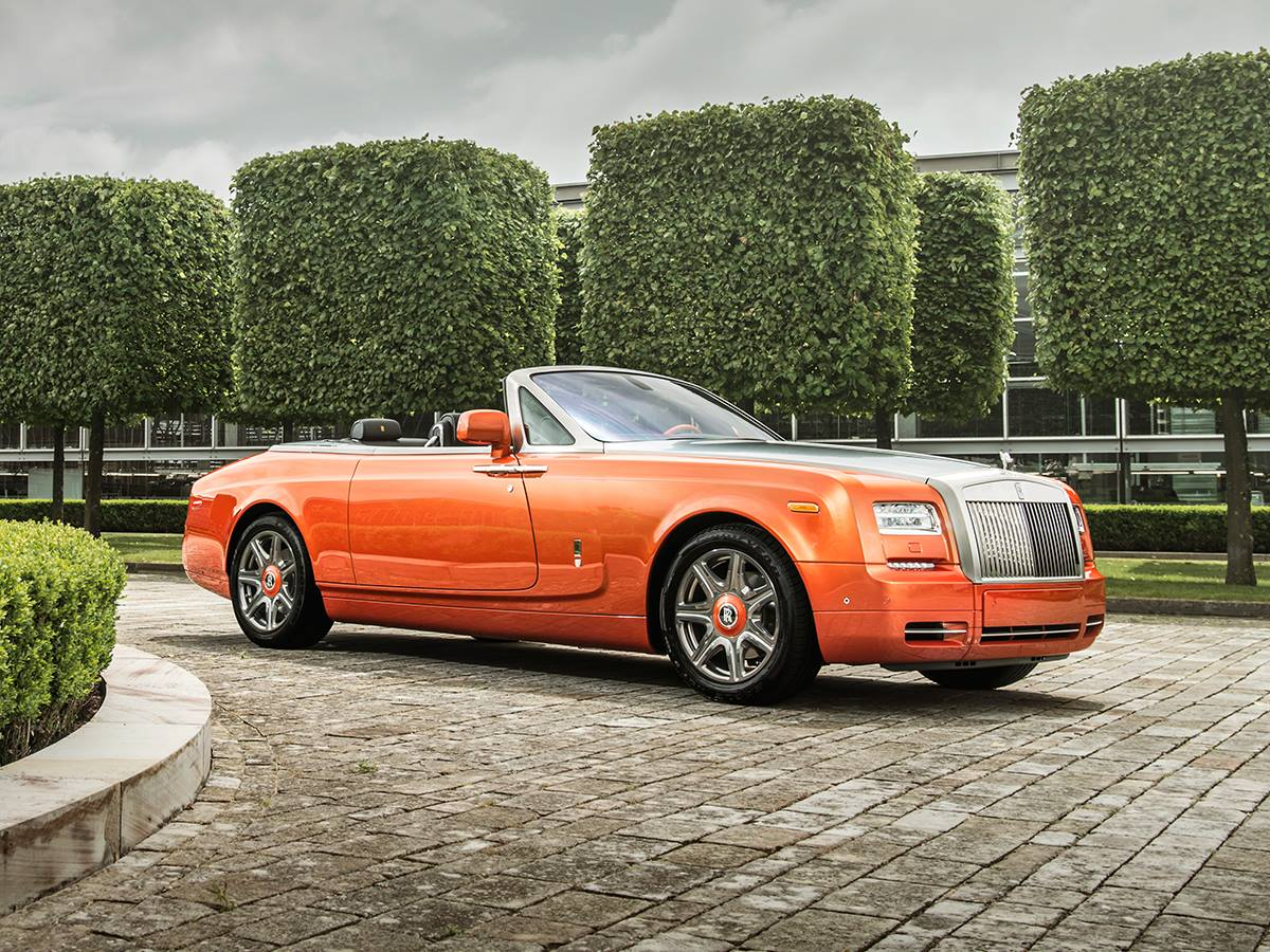 Rolls royce phantom drophead coup beverly hills edition for Rolls royce of beverly hills