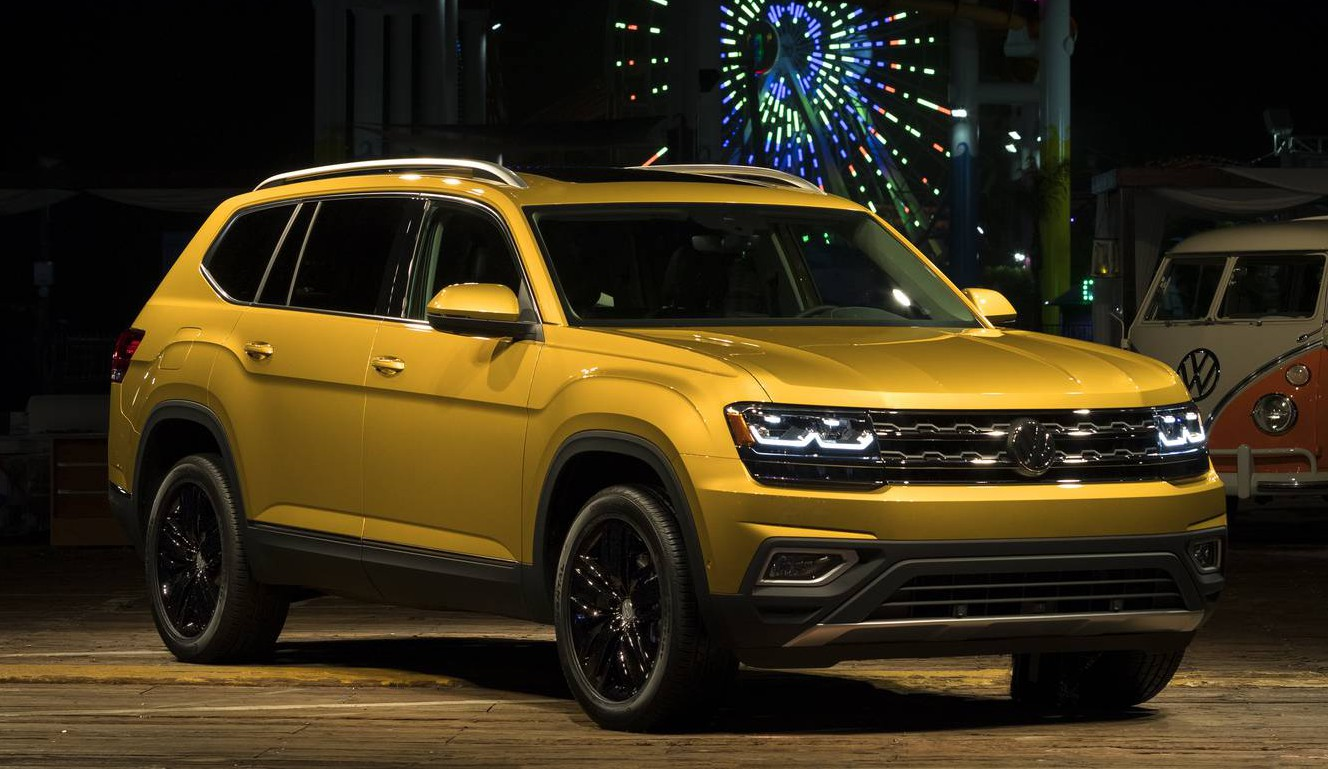 2018 volkswagen atlas first impression review gtspirit. Black Bedroom Furniture Sets. Home Design Ideas