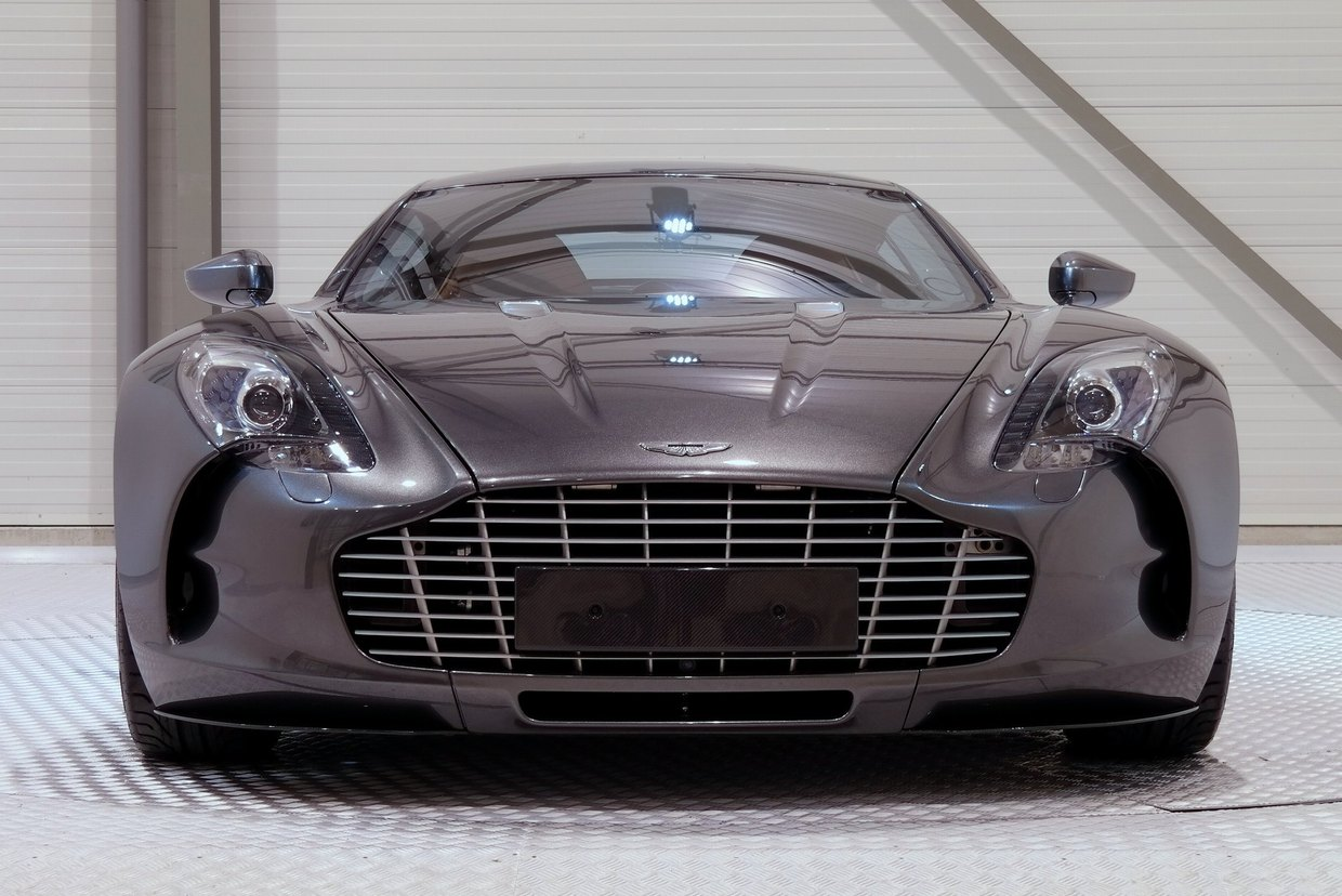 aston martin one-77 for sale at $2.1 million in holland - gtspirit