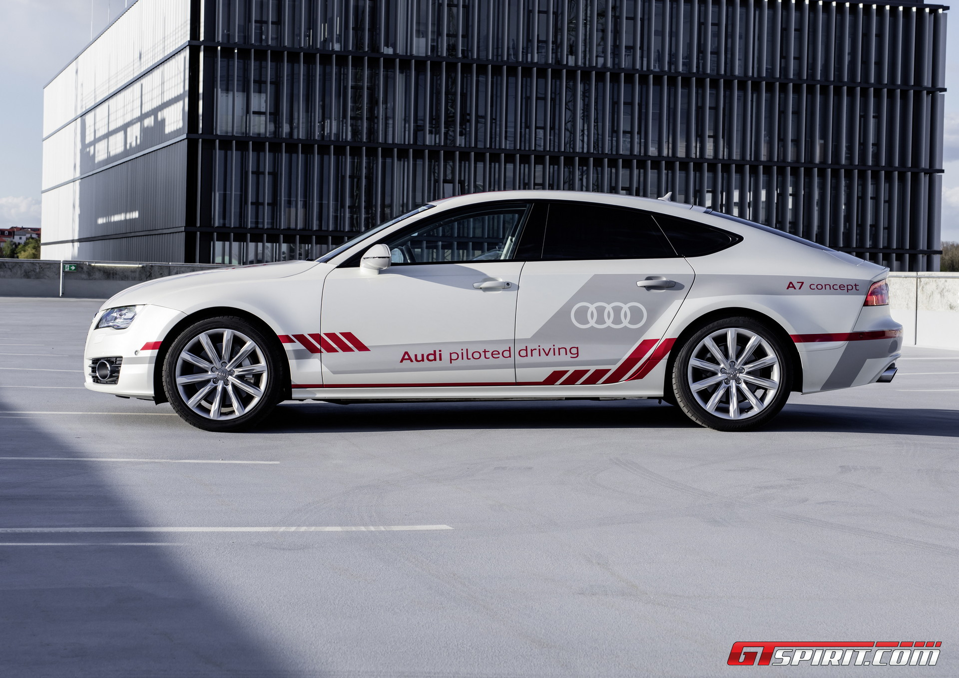 Audi A7 Piloted Driving Concept – The Autobahn Review GTspirit