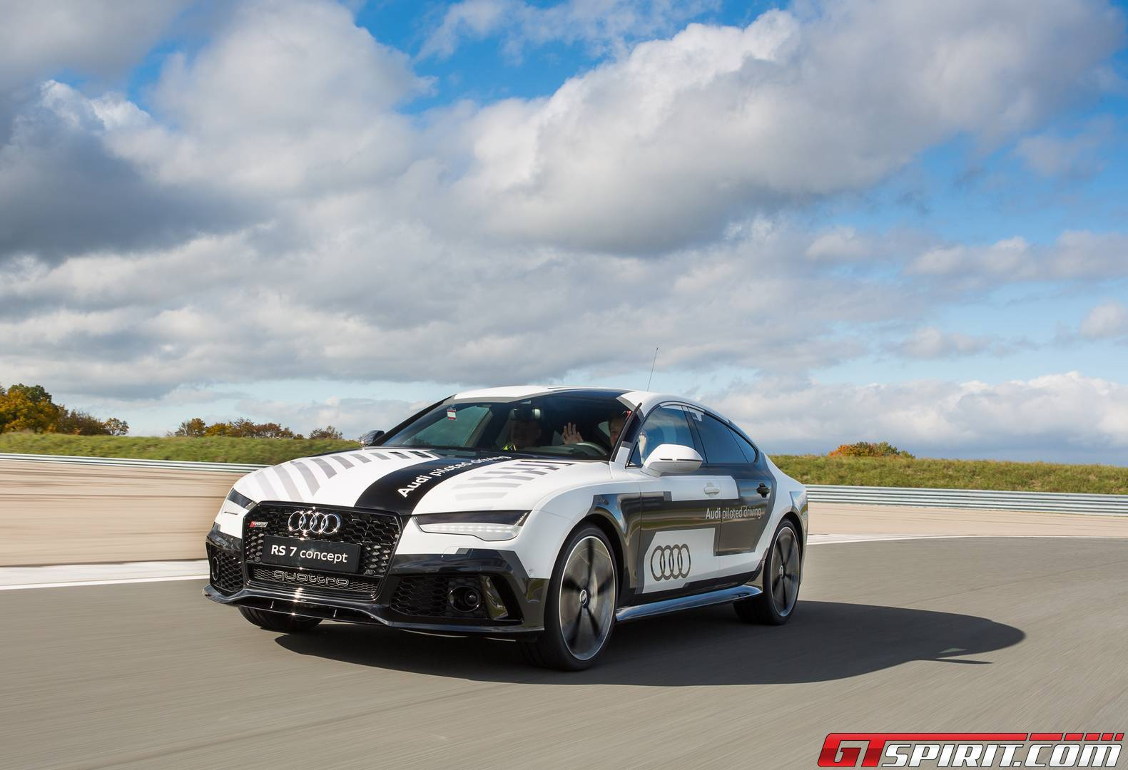 Audi A Piloted Driving Concept The Autobahn Review GTspirit - Audi piloted driving