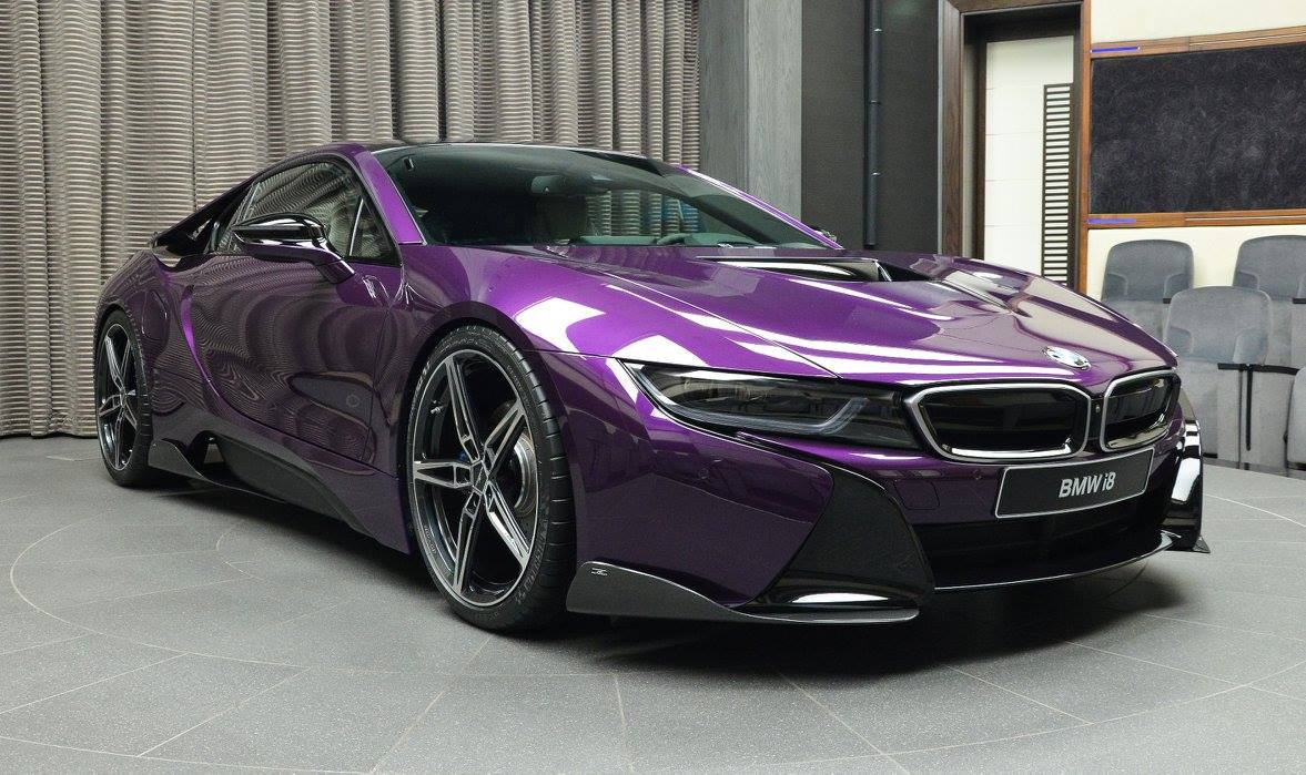 gallery 1 of 1 twilight purple bmw i8 in abu dhabi gtspirit. Black Bedroom Furniture Sets. Home Design Ideas