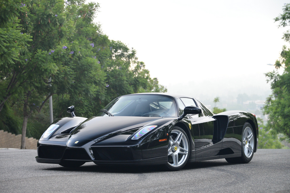 Black Ferrari Enzo for Sale in the US at $3,400,000 - GTspirit