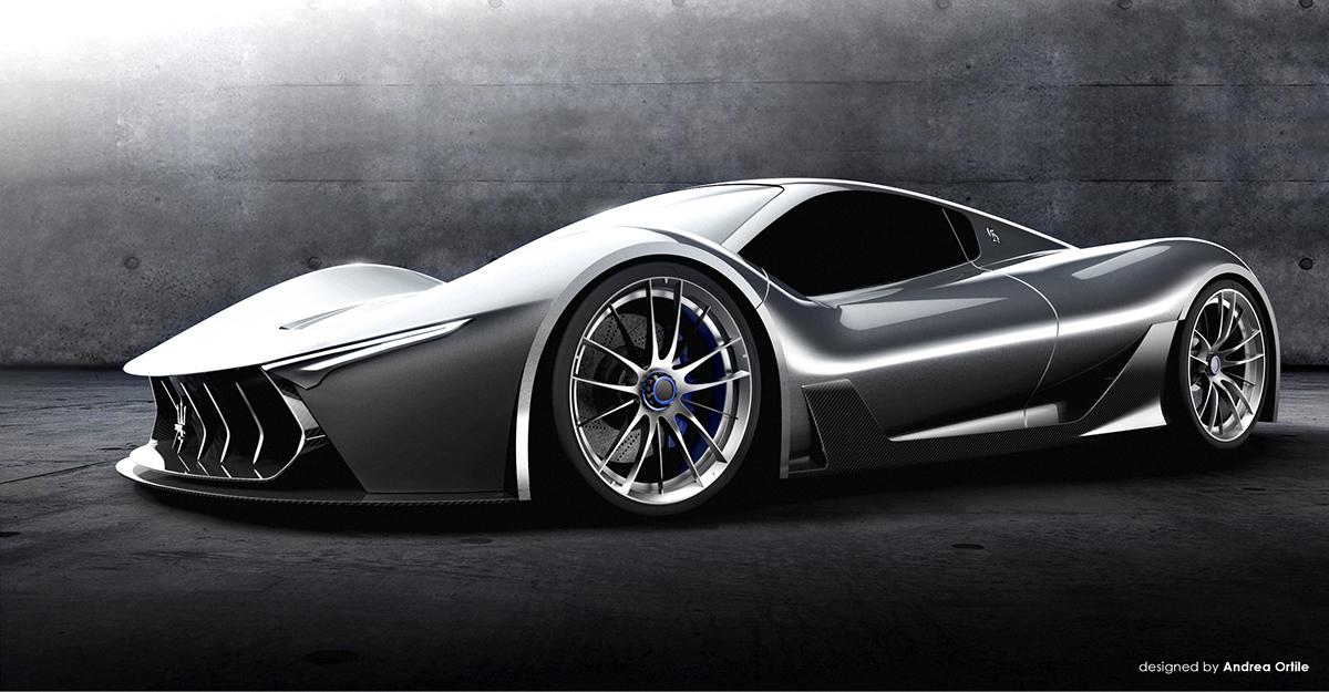 Maserati Mc 63 Concept Based On Ferrari Laferrari Gtspirit