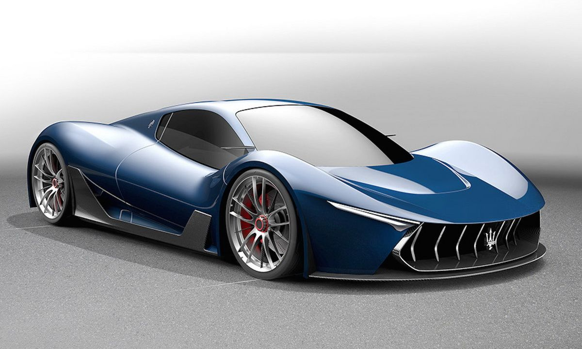 Maserati Mc 63 Concept Based On Ferrari Laferrari Gtspirit