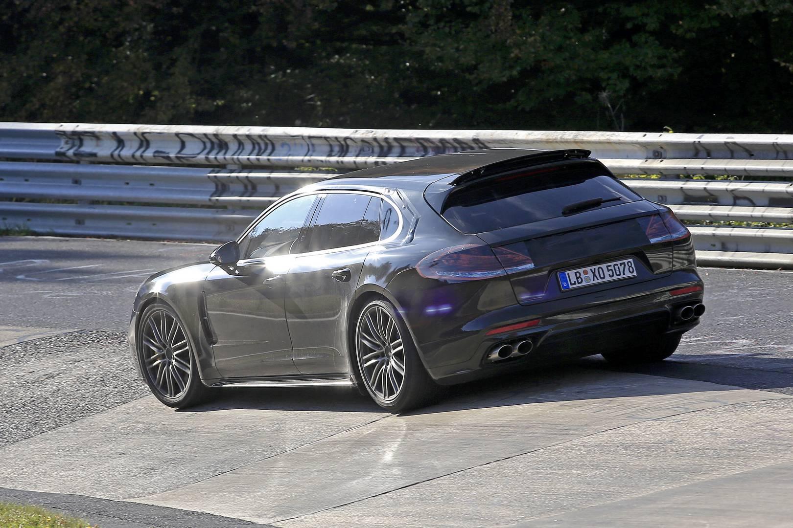 2018 porsche panamera shooting brake latest spy shots gtspirit - Tags Porsche Panamera