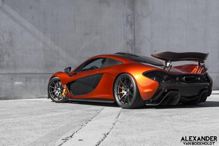 Volcano Orange McLaren P1 (28)