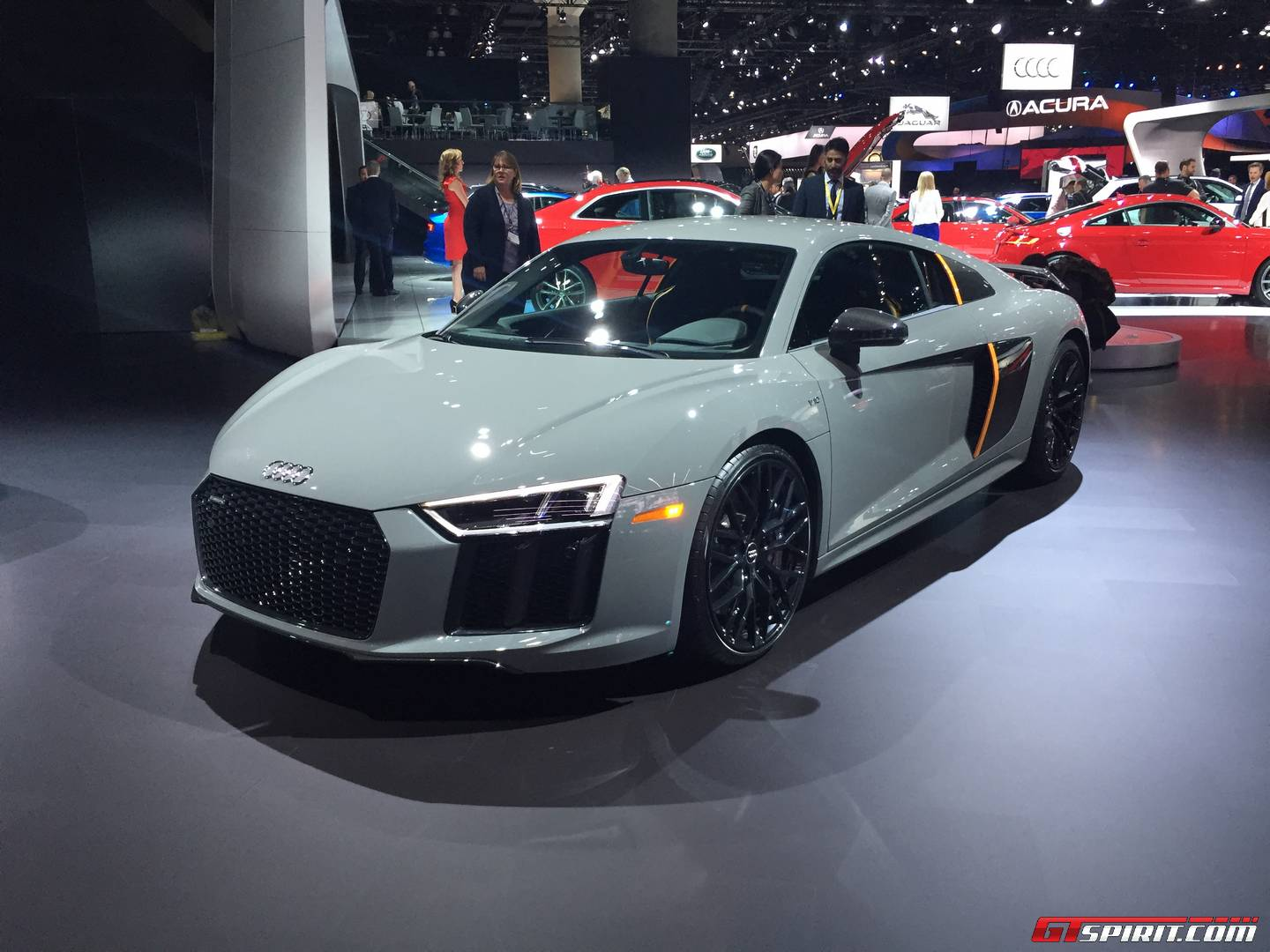 La Auto Show 2016 Audi R8 V10 Plus Exclusive Edition With