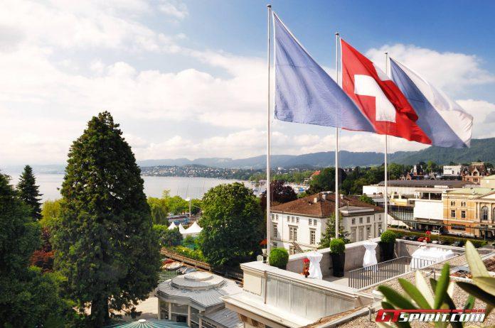 Baur au Lac Zurich Rooftop view