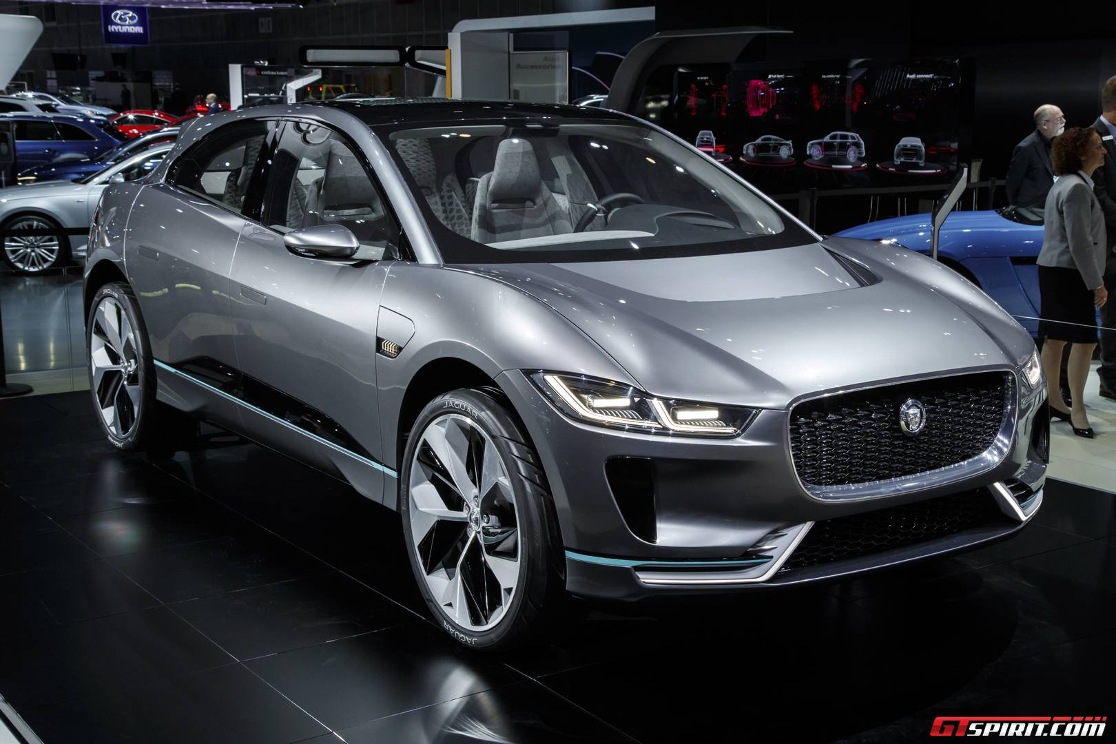 Lithium Ion Car Battery >> LA Auto Show 2016: Jaguar I-PACE Electric SUV - GTspirit