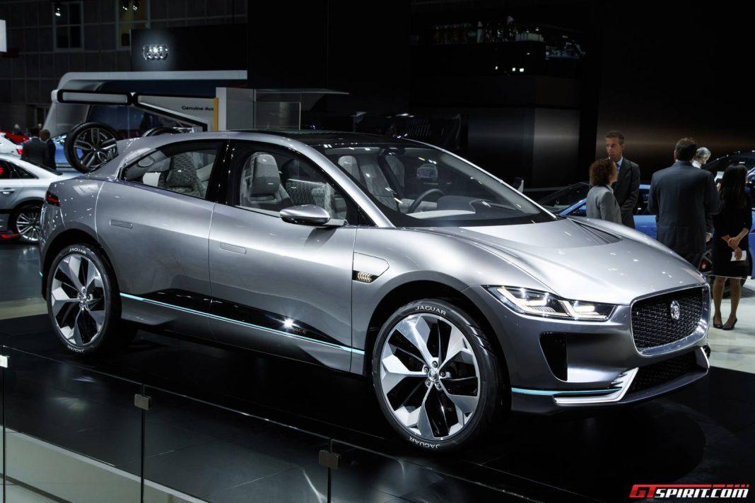 LA Auto Show 2016 Jaguar I PACE Electric SUV GTspirit