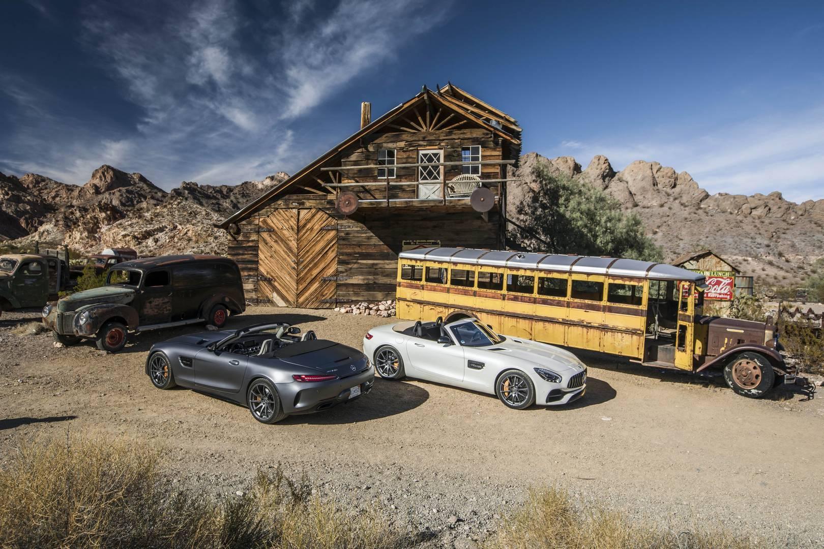 Mercedes-AMG GT Roadster & GT C Roadster