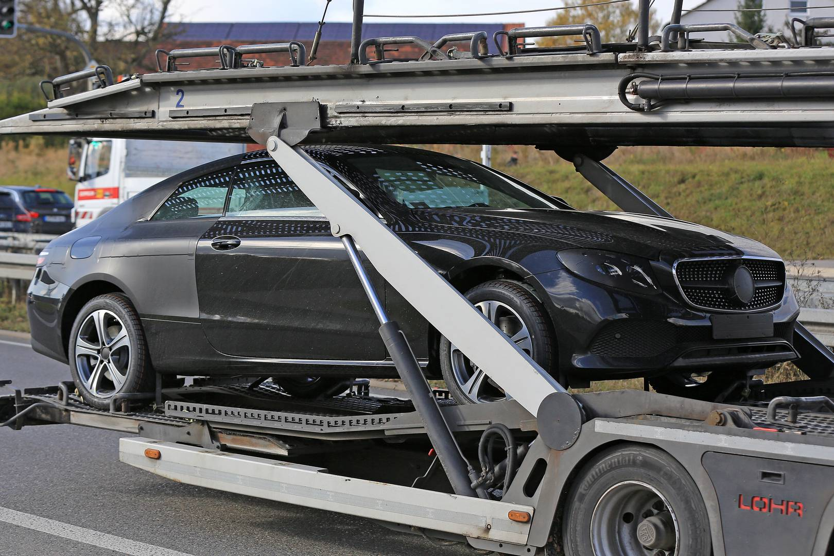 2018 mercedes-benz e-class coupe spy shots with no camo - gtspirit
