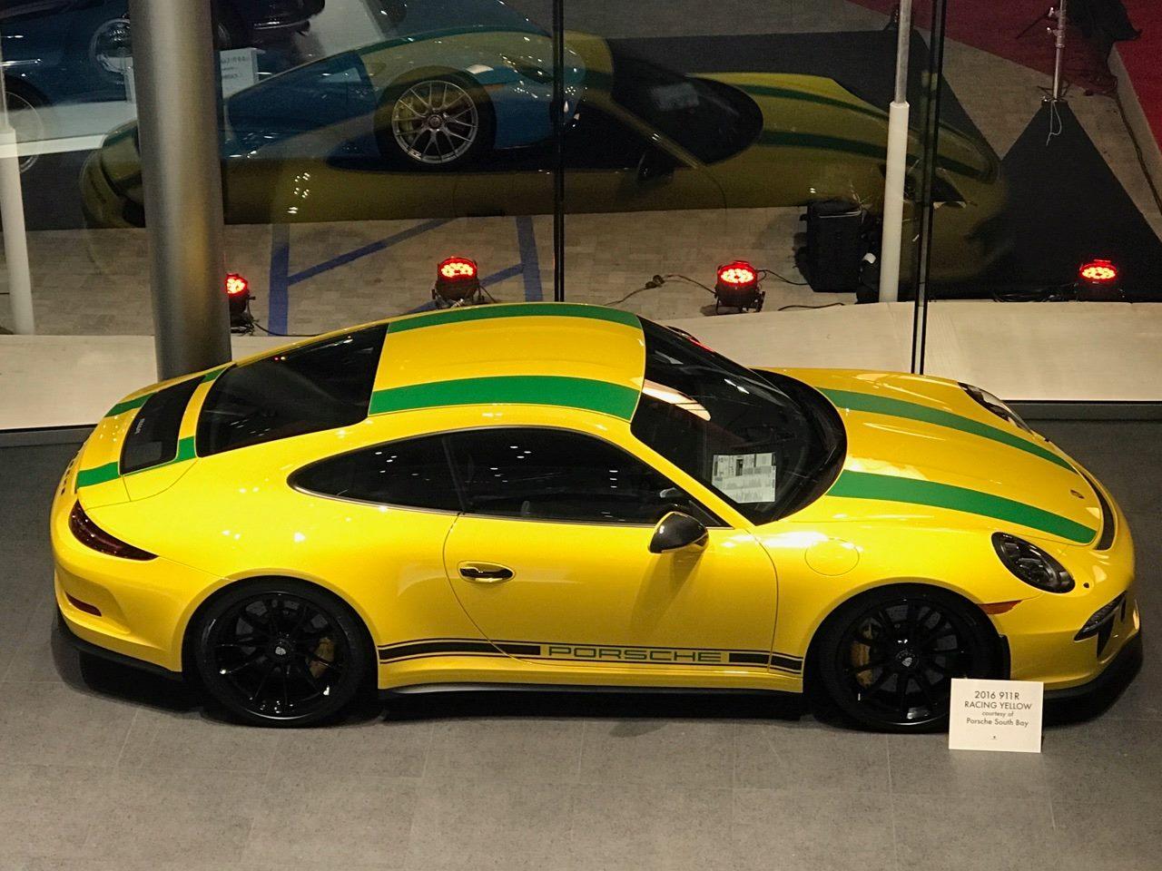 Porsche Vintage Seats >> Special Racing Yellow Porsche 911 R - Tribute to Ayrton Senna - GTspirit