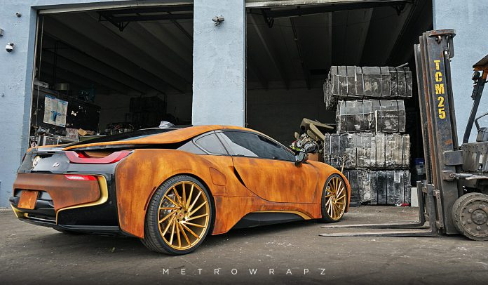Rust BMW i8 (3)