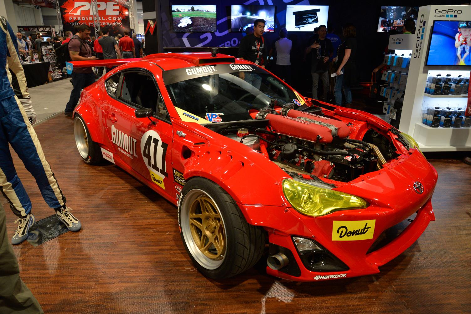 Toyota 86 Livery >> SEMA 2016: Toyota GT86 with Ferrari 458 Engine - GTspirit
