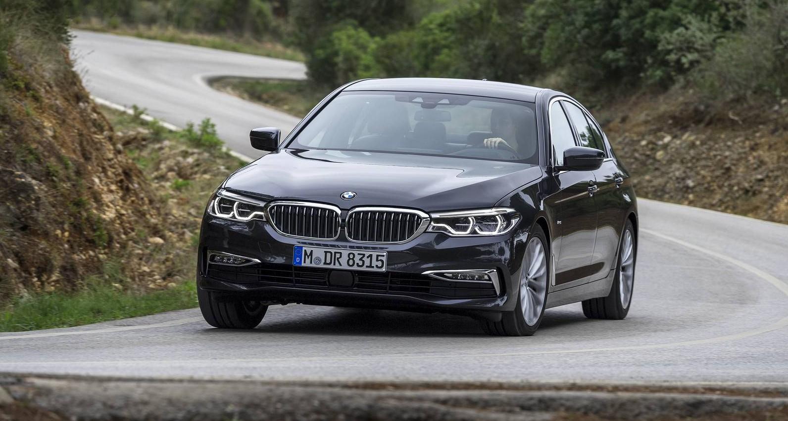 BMW 5 Series: Dynamic Damping Control