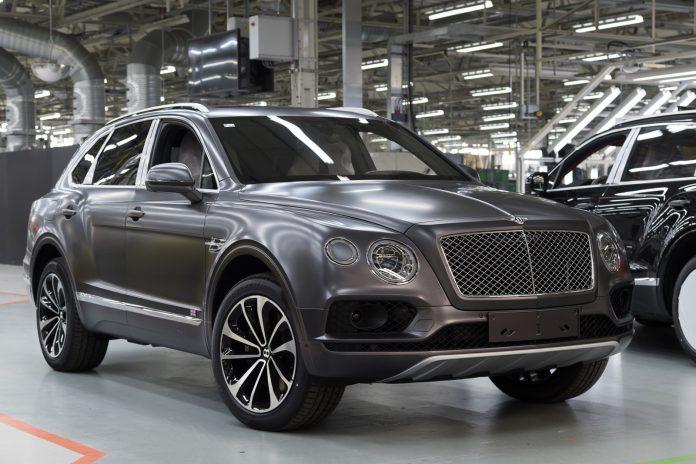 Bentley Bentayga Factory Visit