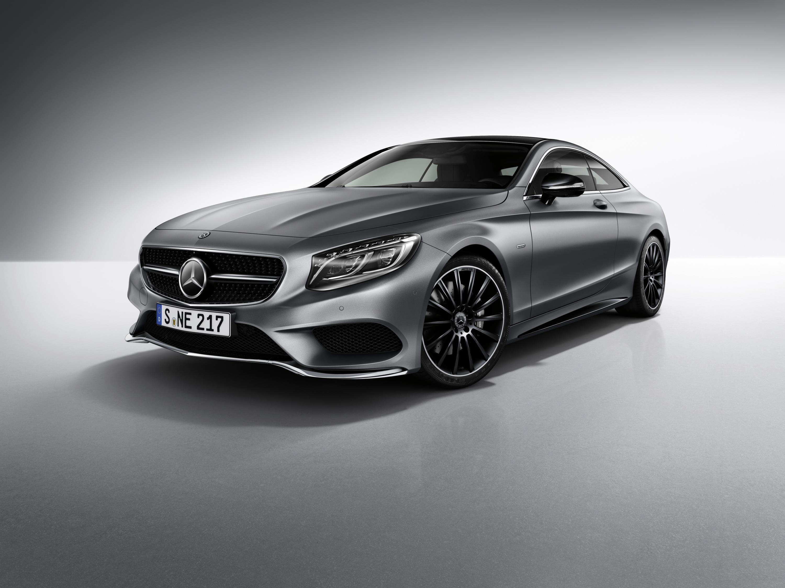 Official 2017 Mercedes Benz S Class Coupe Night Edition