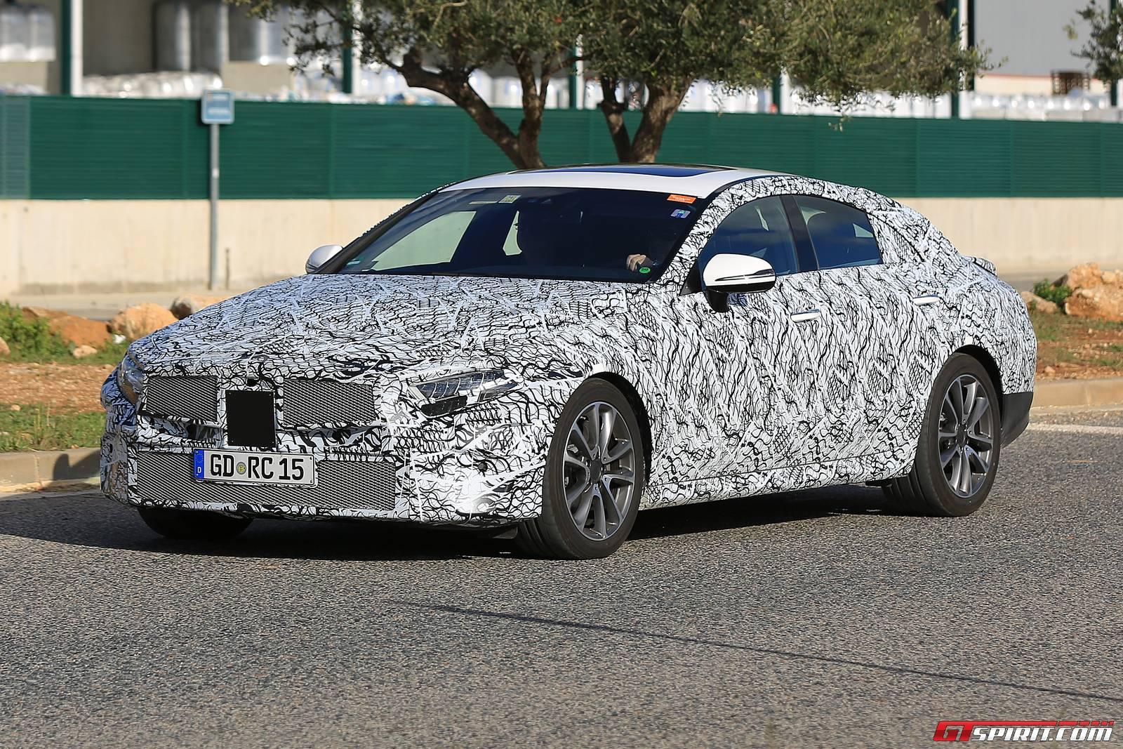 Next Gen 2018 Mercedes Benz Cls Spy Shots Gtspirit