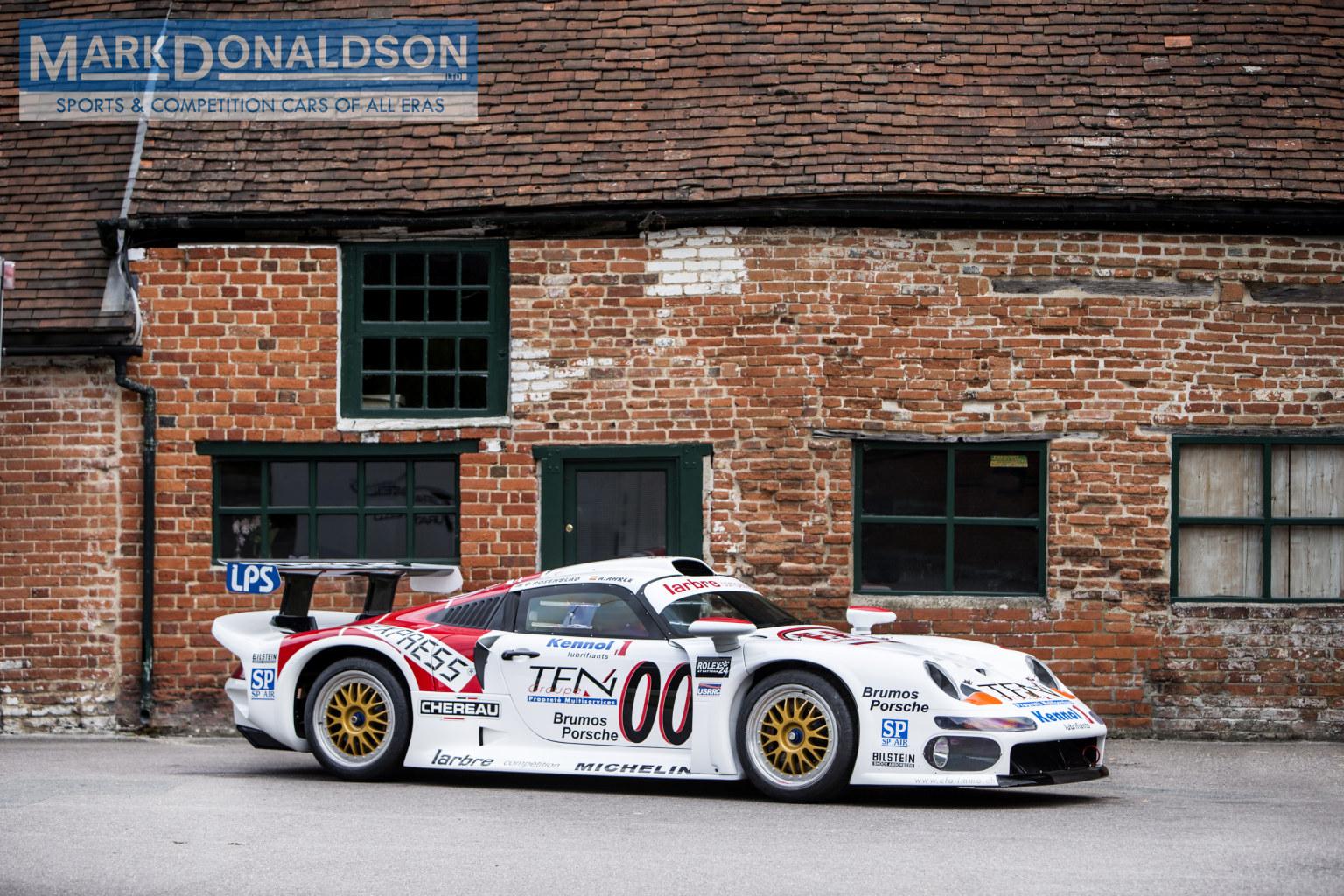 Rare Street Legal Porsche 993 GT1 for Sale - GTspirit