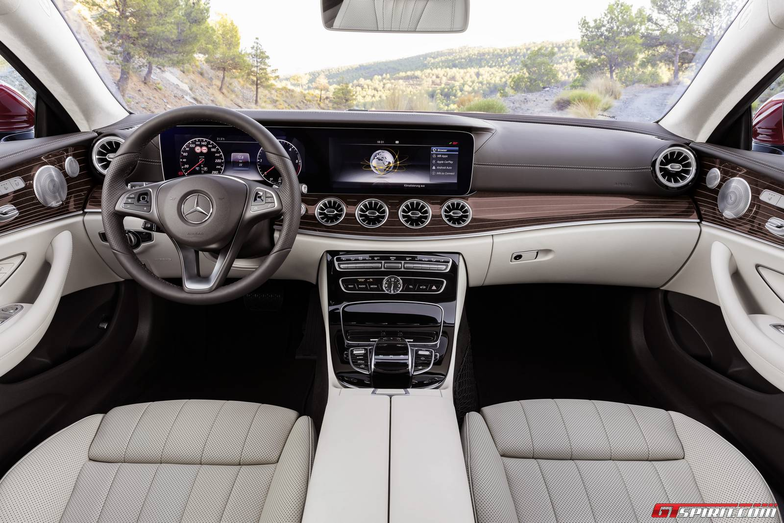 2017 mercedes benz e class coupe interior
