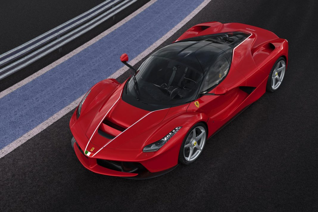 500th LaFerrari Auctioned