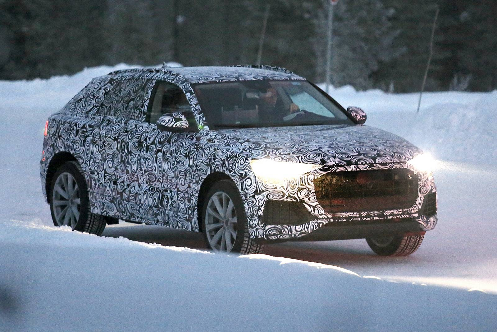 2018 audi q8.  audi 2018 audi q8 coupe spy shots for audi q8
