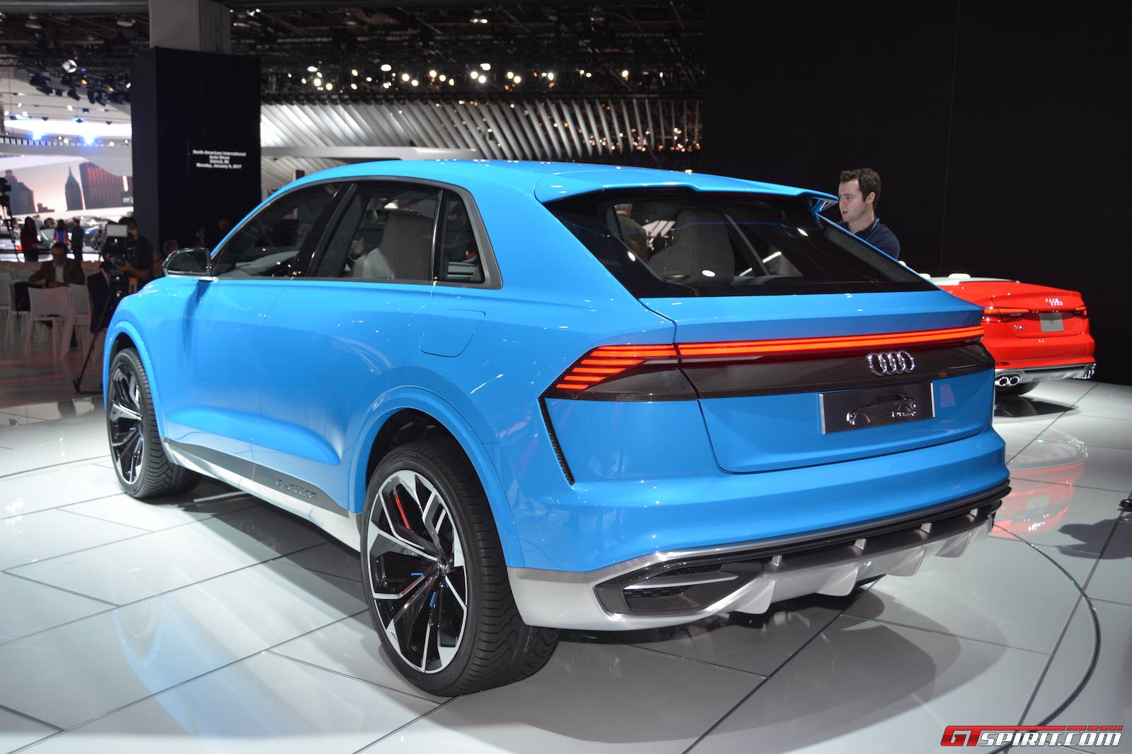600hp audi rs q8 concept to debut at geneva 2017 gtspirit. Black Bedroom Furniture Sets. Home Design Ideas