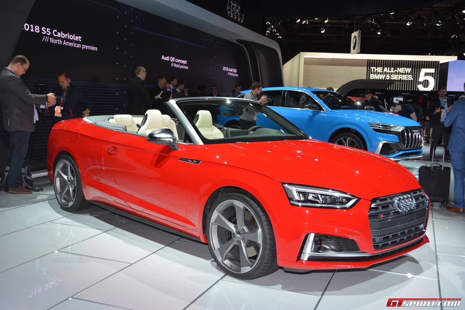 detroit 2017 audi s5 cabriolet gtspirit. Black Bedroom Furniture Sets. Home Design Ideas