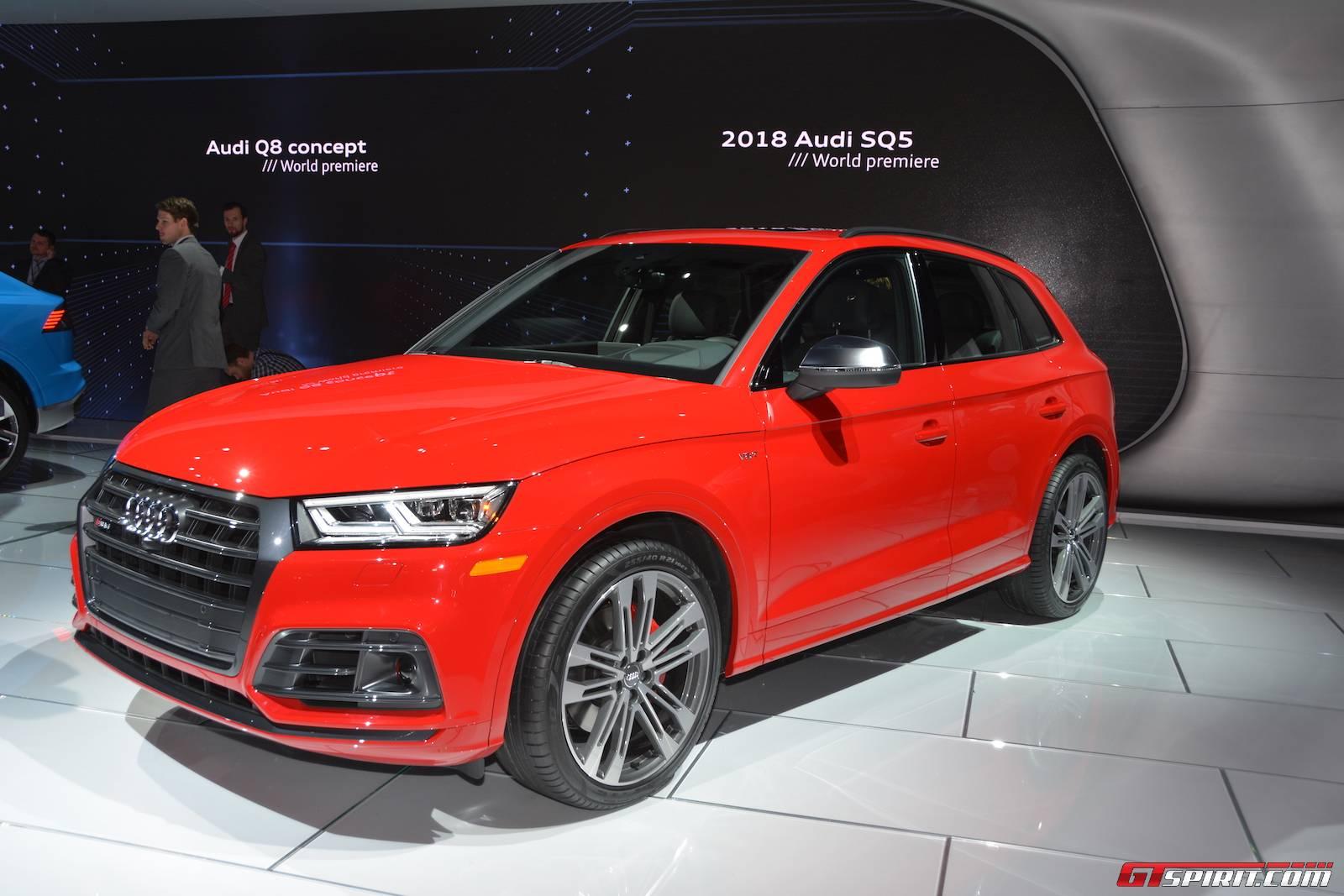 Detroit Audi SQ GTspirit - Audi detroit