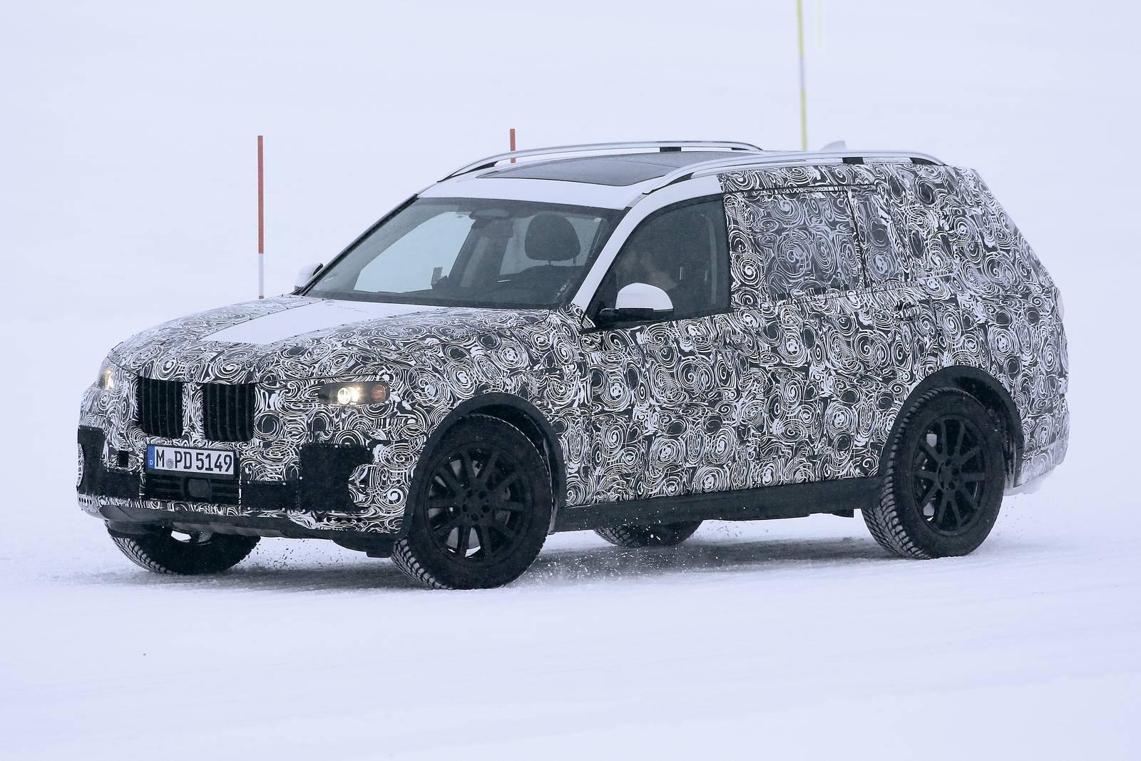 2018 BMW X7 Latest Spy Shots  GTspirit