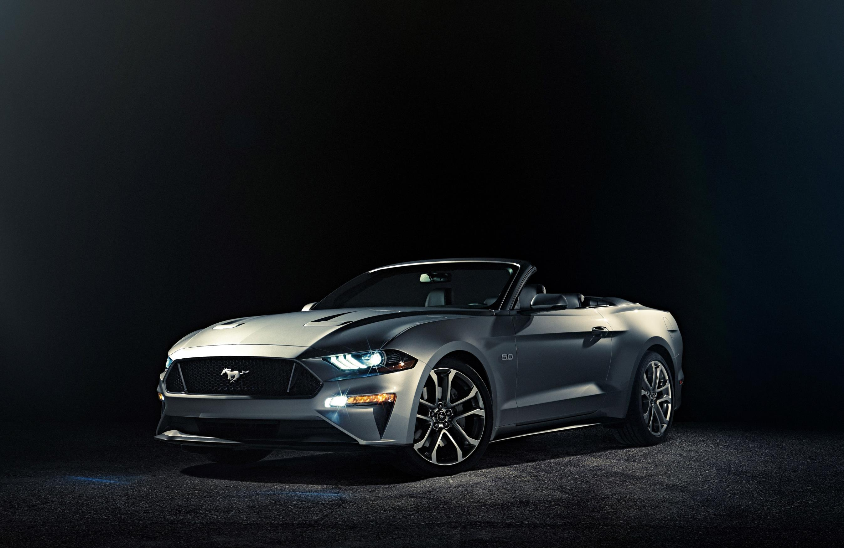 Official: 2018 Ford Mustang GT Convertible Facelift - GTspirit
