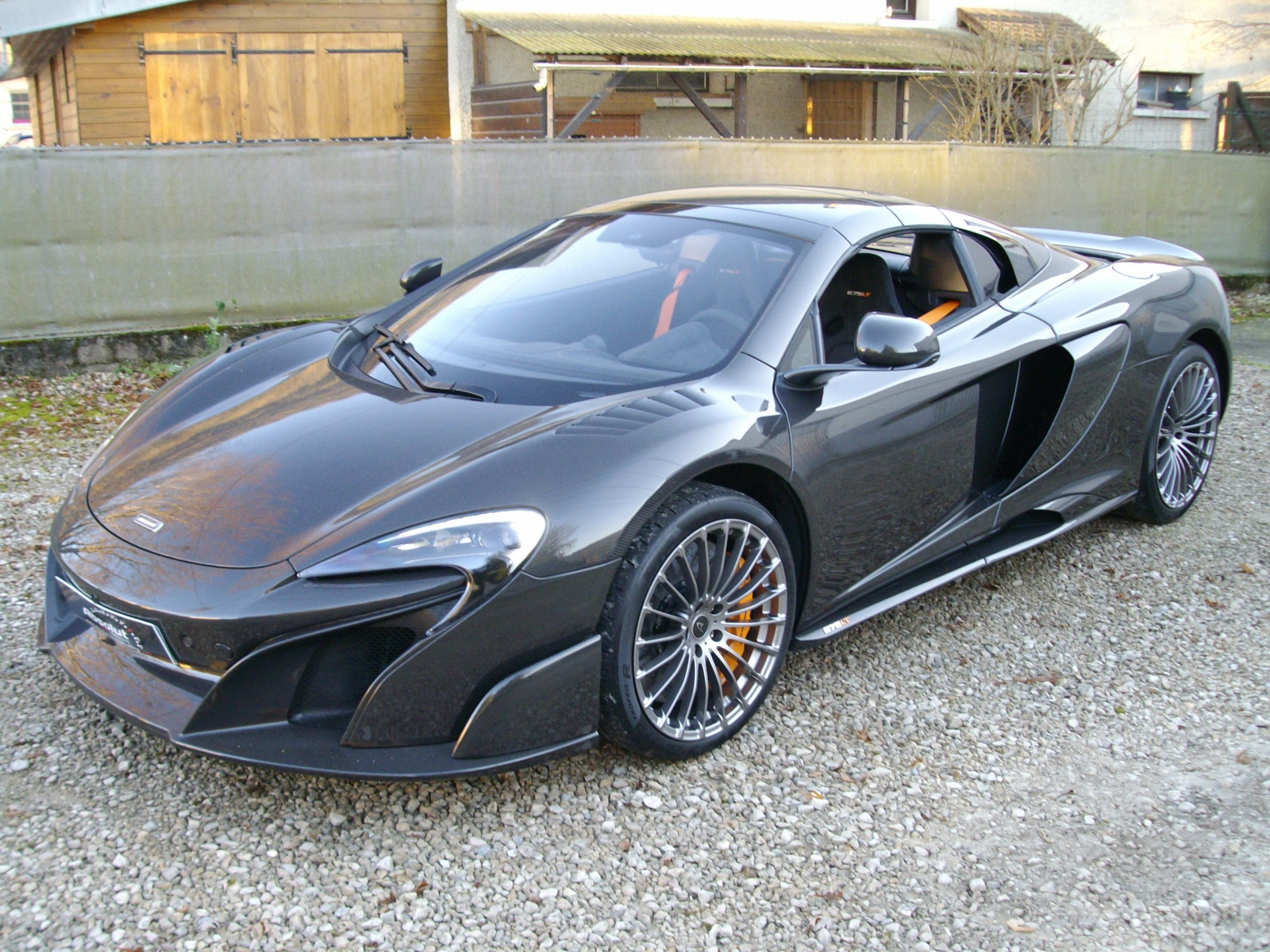 1 of 25 McLaren 675 LT Spider Carbon Series for Sale at €750,000 ...