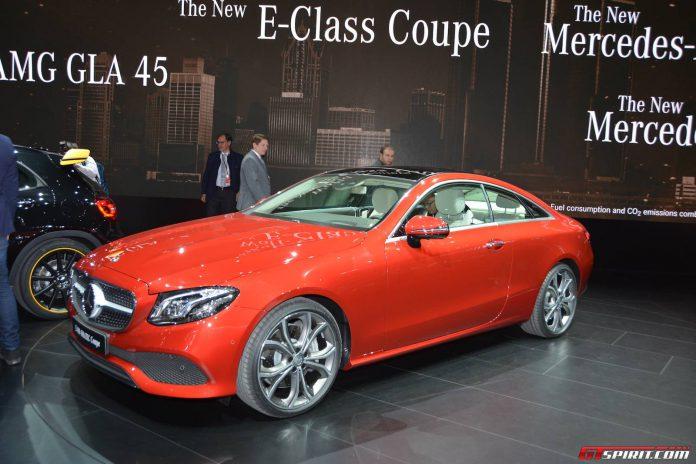 Mercedes-Benz E-Class Coupe (6)