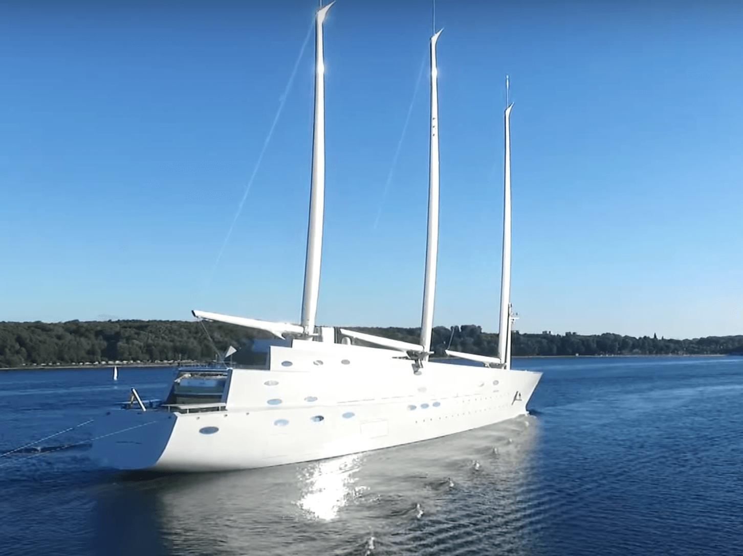 Superyacht Sunday 400 Million Sailing Yacht A 6 Cool Facts
