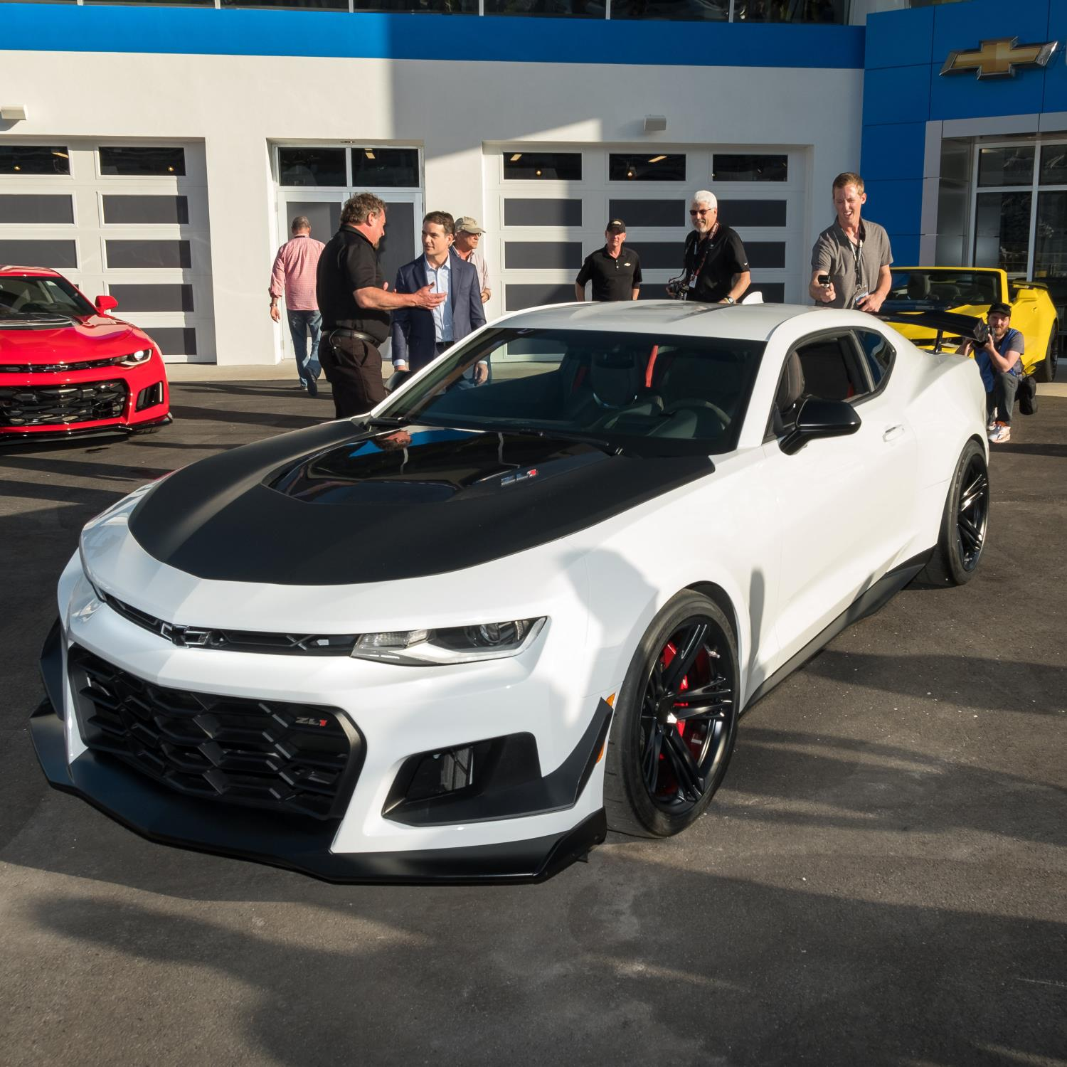 Official 2018 Chevrolet Camaro Zl1 1le Gtspirit