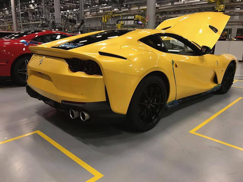 2018 ferrari 812 for sale.  ferrari first live photos of 2018 ferrari 812 superfast inside ferrari for sale r