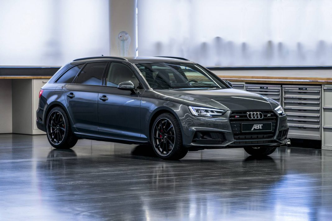 official abt audi s4 avant with 425hp gtspirit. Black Bedroom Furniture Sets. Home Design Ideas